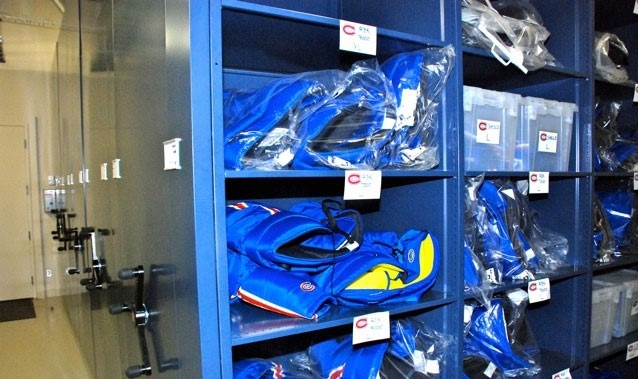 Our space-saving mobile shelving and mobile racking products are a fit any hockey team.