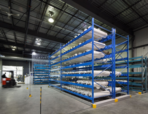 Better organize your warehouse with fixed or mobile shelving storage systems