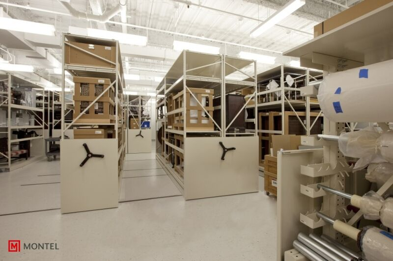 Art gallery storage systems