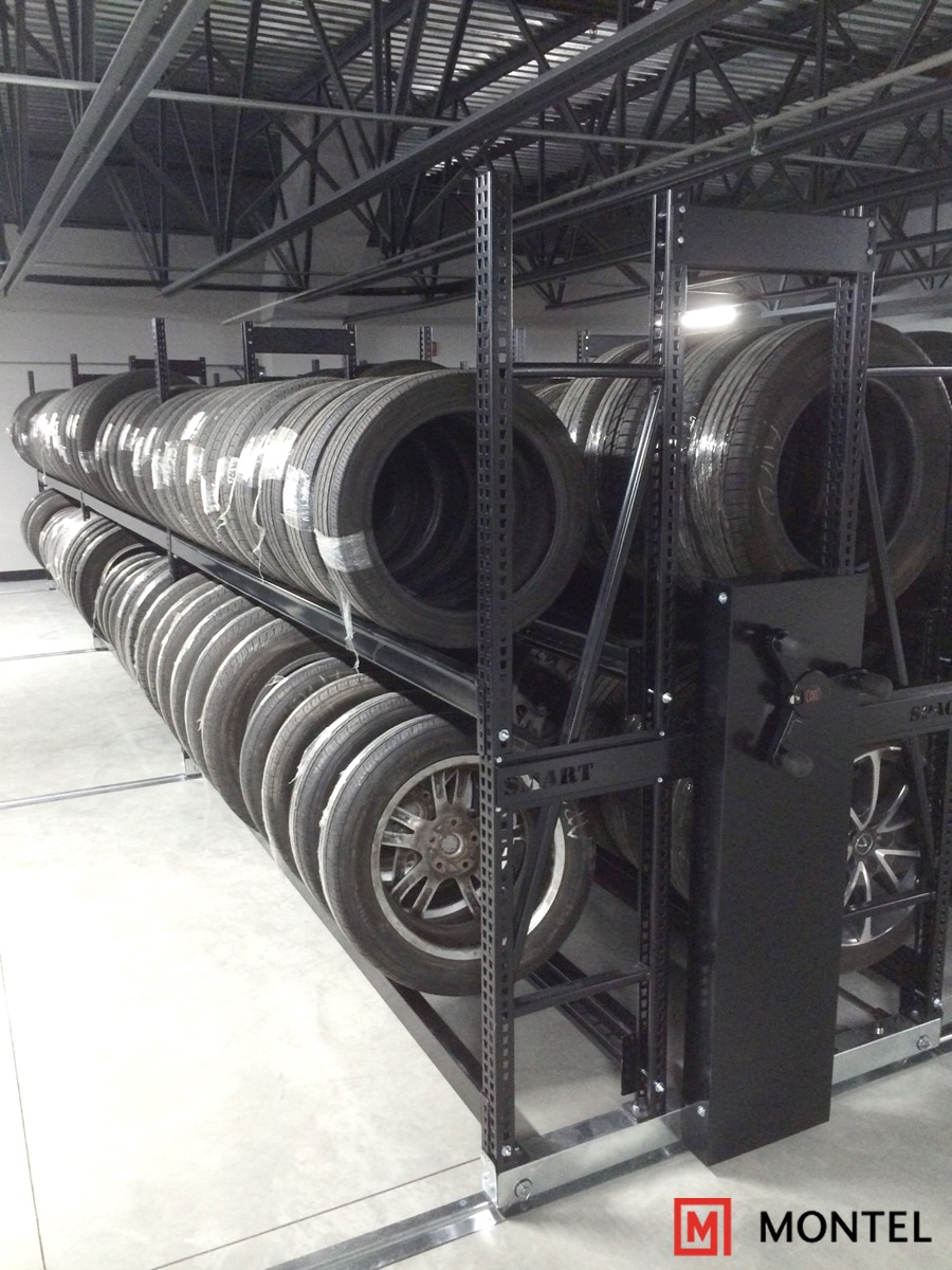 The Smartspace mobile storage system for tires