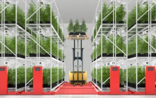 Mobile or fixed shelving system for vertical and indoor agriculture