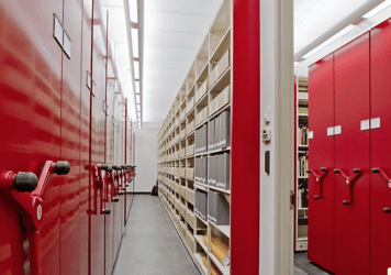 Mobile shelving storage systems