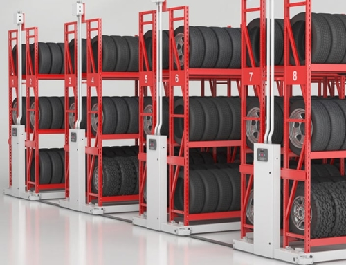 Mobile storage for smaller warehouses Rack&Roll