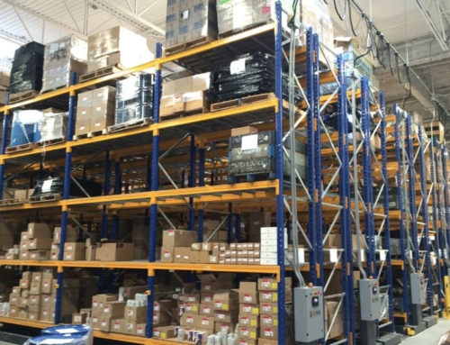 Mobile shelving storage systems SAFERAK®