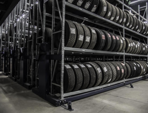Double your tire storage space with Rack&Roll